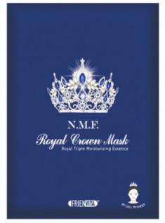 Тканевая маска, восстанавливающая естественный барьер кожи FRIENVITA N.M.F. Royal Crown Mask 28г