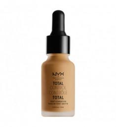 NYX PROFESSIONAL MAKEUP Тональная основа Total Control Drop Foundation - Golden Honey 14