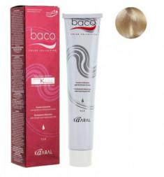 Крем-краска Kaaral Baco COLOR 10.0SK очень светлый блондин пепельный 100 мл
