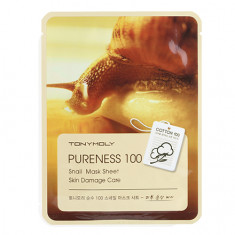 Tony Moly, Маска для лица Pureness 100 Snail, 21 г