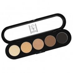Палетка теней, 5 цветов Make-up Atelier Paris T03s натуральные коричневые тона