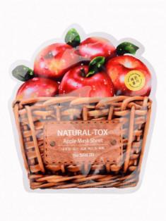 Маска тканевая яблочная THE SAEM Natural-tox Apple Mask Sheet 20гр