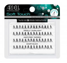 ARDELL Пучки ресниц безузелковые короткие ультра-легкие / Soft Touch