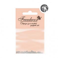 Freedecor, Стразы для ногтей «Серебро», 1,8 мм