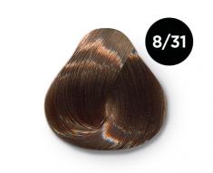 OLLIN PROFESSIONAL 8/31 краска для волос, светло-русый золотисто-пепельный / OLLIN COLOR 100 мл