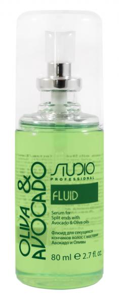 STUDIO PROFESSIONAL Флюид для секущихся кончиков волос с маслами авокадо и оливы / Olive and Avocado 80 мл