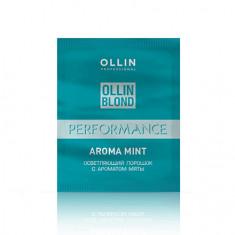 OLLIN, Осветляющий порошок Blond Performance Aroma Mint, 30 г OLLIN PROFESSIONAL