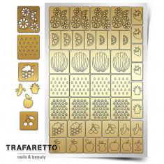 Trafaretto, Трафареты «Фруктовый сад»