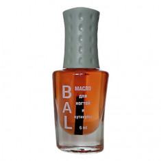 BAL Professional, Масло для ногтей и кутикулы «Грейпфрут», 6 мл
