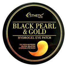 ESTHETIC HOUSE Патчи гидрогелевые с экстрактом черного жемчуга и золота / BLACK PEARL & GOLD HYDROGEL EYEPATCH 60 шт