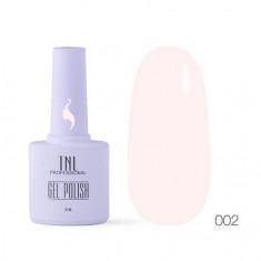 TNL, Гель-лак «8 чувств» №002, Светло-розовый TNL Professional