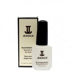 Jessica rejuvenation базовое покрытие с маслом жожоба для сухих ногтей 14,8 мл