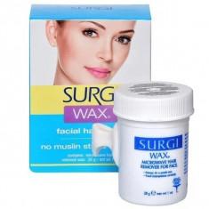 Surgi, wax facial, воск для удаления волос на лице 28 г