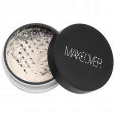 Makeover, рассыпчатая бархатная пудра, snow, 10,6 г