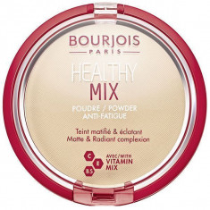 Bourjois, healthy mix, пудра, тон №1, vanilla, 11 г