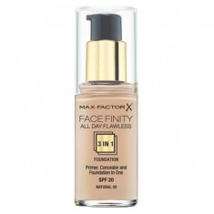 Max factor, facefinity all day flawless, тональная основа 3в1, тон 50, natural, 30 мл