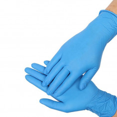 перчатки nitrimax нитриловые неопудренные голубые размер xl 100шт ARCHDALE