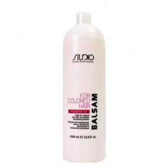 Kapous бальзам для окрашенных волос с рисовыми протеинами и экстрактом женьшеня 1000 мл