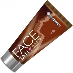 Soleo, face tan, ускоритель для загар в солярии с anti-aging формулой, 50 мл