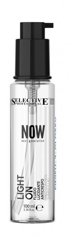 SELECTIVE PROFESSIONAL Флюид-блеск с кондиционирующим эффектом / NOW LIGHT ON 100 мл