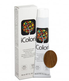 KAYPRO 8.8 краска для волос, светлый шоколадный блондин / ICOLORI 100 мл