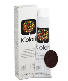 KAYPRO 5.66 краска для волос, интенсивный светлый красновато-коричневый / ICOLORI 100 мл