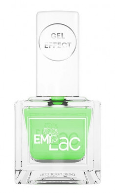 E.MI 052 лак ультрастойкий для ногтей, Лайм / Gel Effect 9 мл