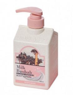 Лосьон для тела с ароматом белого мускуса Milk Baobab Original Body Lotion White Musk 500мл