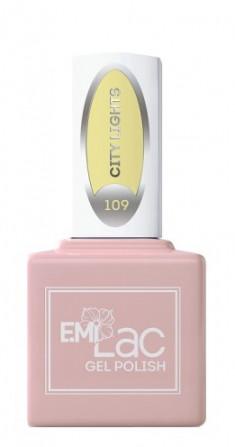 E.MI 109 SD гель-лак для ногтей, Огни города / E.MiLac 6 мл
