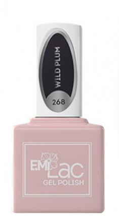 E.MI 268 HM гель-лак для ногтей, Дикая слива / E.MiLac 6 мл