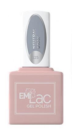 E.MI 125 TGR гель-лак для ногтей, Нейтральный серый / E.MiLac 6 мл