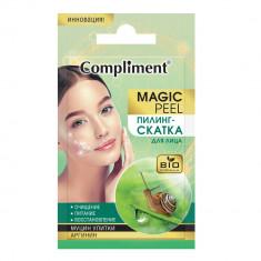 Compliment Magic Peel Пилинг-скатка для лица муцин улитки и аргинин 7мл