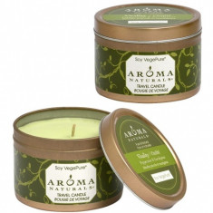 Aroma Naturals Свеча Оживление 80 г банка