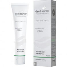 Dentissimo Зубная паста Bio-Natural With Herbs Toothpaste 75мл