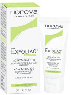 Норева (Noreva) Эксфолиак Акномега-100 Крем для жирной и комбинированной кожи с акне 30 мл
