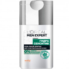 Loreal Men Expert Гель после бритья Гидра сенситив для чувствительной кожи 125мл Loreal Paris