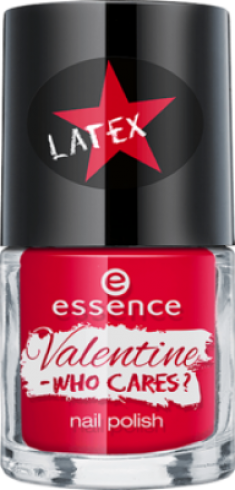 Лак для ногтей Valentine - who cares Essence 03 crew love is true love
