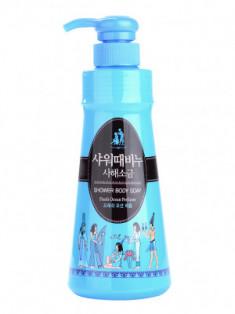 Гель для душа Mukunghwa SHOWER BODY SOAP Dead Sea Salt With Fresh Ocean Perfume 900мл