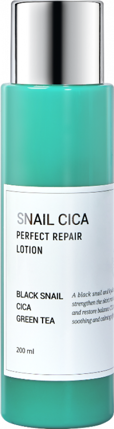 ESTHETIC HOUSE Лосьон для лица с муцином улитки и центеллой / Snail Cica Perfect Repair Lotion 200 мл