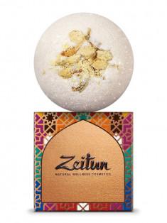ZEITUN Бомбочка бурлящая для ванны Ритуал соблазна с эфирным маслом жасмина, 150 г