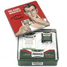 Proraso Набор для бритья GINO Ментол и Эвкалипт (Pre-shave крем, крем для бритья, лосьон после бритья)