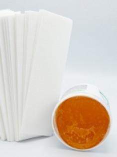 Aravia Professional - Полоски нетканые для депиляции, 76*230 мм, 100 шт