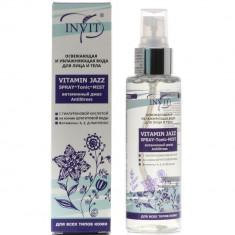 Invit Vitamin Jazz освежающая и увлажняющая вода для лица и тела 110мл