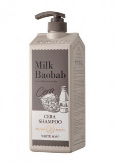 Шампунь с керамидами, с ароматом белого мыла Milk Baobab Cera Shampoo White Soap 1200мл