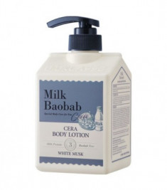 Лосьон для тела с керамидами, с ароматом белого мускуса MILK BAOBAB Cera Body Lotion White Musk 600 мл