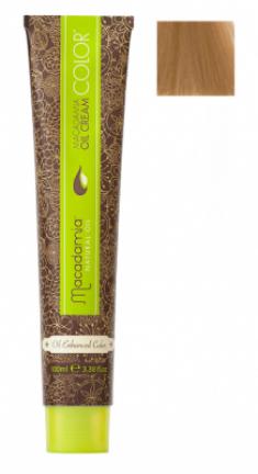 Краска для волос Macadamia Oil Cream Color 8.03 СВЕТЛЫЙ ТЕПЛЫЙ БЛОНДИН 100мл