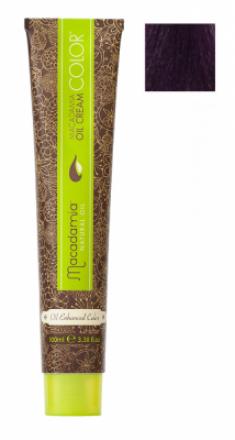Краска для волос Macadamia Oil Cream Color 5.222 ЭКСТРА ЯРКИЙ РАДУЖНЫЙ СВЕТЛО КАШТАНОВЫЙ 100мл