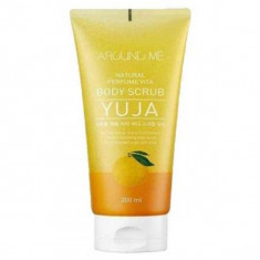 скраб для тела welcos around me natural perfume vita body scrub yuja