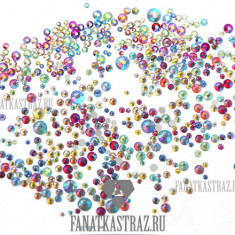 FanatkaStraz, Стразы «Палитра с эффектом АВ», микс