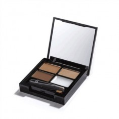 Набор для бровей MakeUp Revolution FOCUS & FIX EYEBROW SHAPING KIT Medium Dark